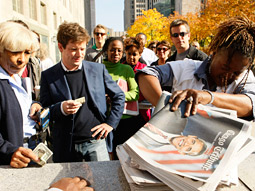 Get it while it's hot: Chicago Tribune line.