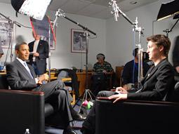 MSNBC's Rachel Maddow interviews President Barack Obama.