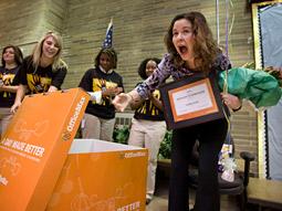 OfficeMax's 'Day Made Better' program aids teachers.