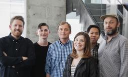 L to R: Gus Johnston, Blake Johnston, Chris Bull, Aisha Hakim, Daniel Chen, Ryan Hoercher