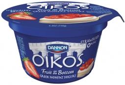 Dannon Oikos Greek yogurt