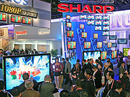 This year's CES was proof that high-def screens are getting bigger and more ubiquitous.
