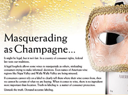 Champagne's truth campaign: Industry is cracking down on impostors.