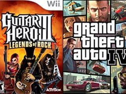 Big sellers: These two games shattered sales records.
