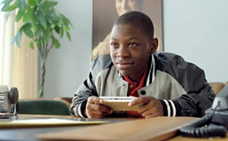 NOT PLAYING AROUND: Since Sony's latest PSP campaign with trash-talking Marcus Rivers (played by young actor Bobb'e J. Thompson) began in mid-June, sales for the hand-held gaming device have climbed 20% each week.