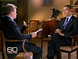 President Obama's appearance on '60 Minutes' helped CBS win Sunday.