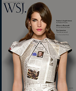 All Wrapped Up: WSJ snagged ads from 51 marketers for its debut issue.