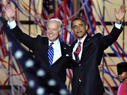 Team Obama: With Biden at the DNC.