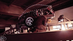 The work: Toyota Prius Hybrid Roller Coaster