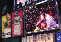 Space 150 took over Times Square for Forever 21.