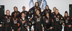 Tatoo go-kart racing crew