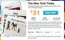 The New York Times on LivingSocial