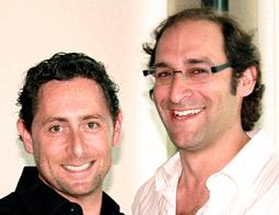 MEDL's Andrew Maltin (l.) and Dave Swartz