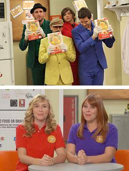 Post Cereals promotes its QR codes campaign via web sitcom.