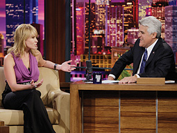 JAY LENO: With a nightly talk show at 10 p.m., NBC has fewer hours to program.