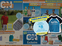 SUPER FUN: Old Navy's microsite features interactive games with its SuperModelquins.