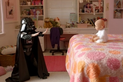 The Cute Darth Vader kid from the Volkswagen ad.