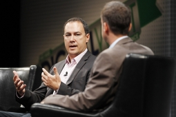 Jim Lanzone, president of CBS Interactive, speaks at Ad Age 's Digital West conference in San Francisco Tuesday.