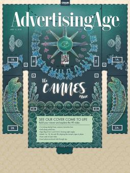 Ad Age June 13, 2016 Cannes Issue Cover Art
