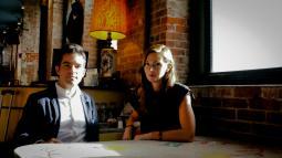 Peter Gannon and Jessica Dierauer
