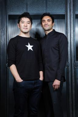 Rei Inamoto and Ajaz Ahmed