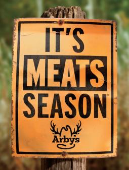 Arby's Hunting print ad