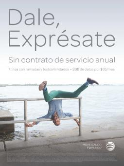 AT&T ad for People En Español.