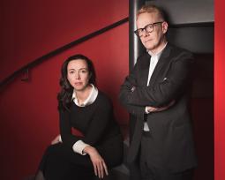 L-R: Sam Southey, managing partner; Alan Aboud, creative director, Grey London