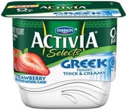 Activia Selects Greek yogurt