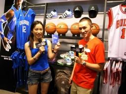 Adidas picked two bloggers to follow the NBA stars throughout their tour.