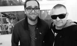 Alex Derwin (L) and Cam Blackley (R)