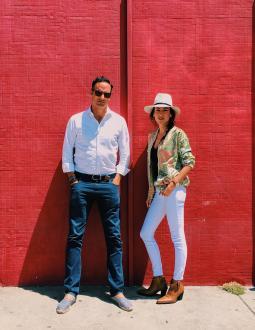 Alex Sehnaoui and Liz Levy