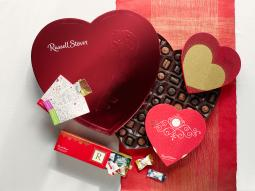 Russell Stover is best known for its Valentine's Day products.