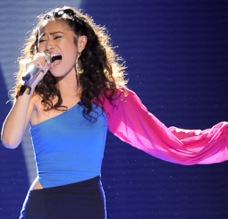 Jessica Sanchez on Fox's 'American Idol'