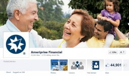 Ameriprise Financials' Facebook Page