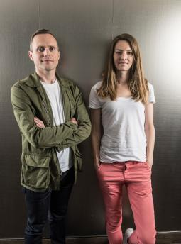 Andy Jex and Anna Vogt