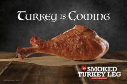 Arby's Smoked Turkey Leg