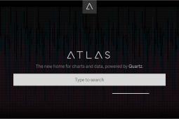 The Atlas homepage.