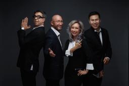 Arto Hampartsoumian, Tim Browne, Christine Ng and Arthur Tsang