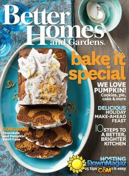 Meredith publishes Better Homes and Gardens and AllRecipes magazines.