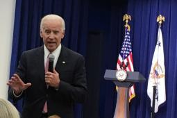 Vice President Joe Biden discussed the importance of continuing the White House's