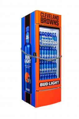 Bud Light Cleveland Browns Victory Fridges