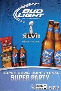 PepsiCo/Anheuser-Busch for Super Bowl 2013