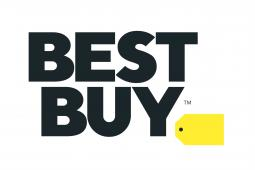 Best Buy puts the tag outside in new logo.