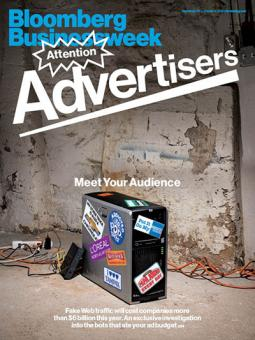 How Bloomberg Businessweek packaged the ad-fraud story for its cover