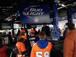 Fans line up for Bud Light