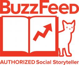 The BuzzFeed Authorized Storyteller badge