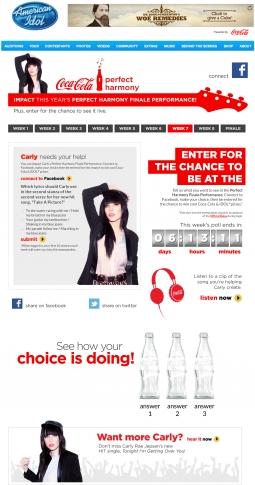 Coke 'Idol' promotion