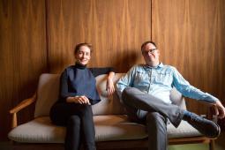 Catherine Allen and Ian Simpson