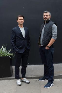 Claudio Lima and Malcolm Poynton